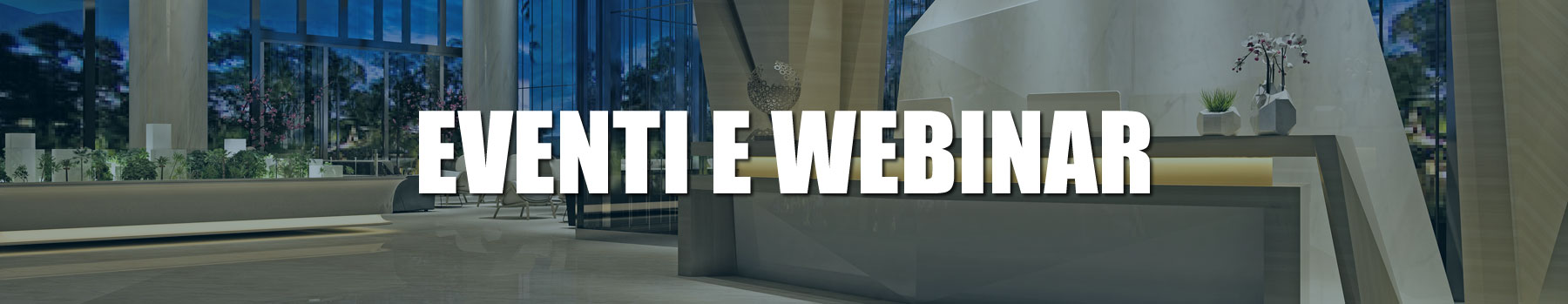 eventi webinar banner