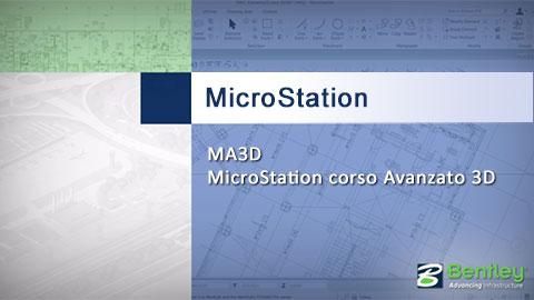 Microstation corso MA3D